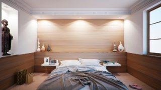 חדר שינה מואר