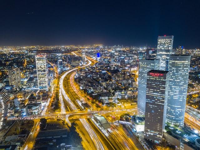 תל אביב - מבט מלמעלה - אילוסטרציה